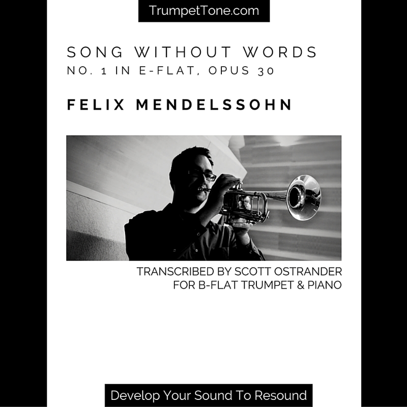 Song Without Words – Transcription for Trumpet & Piano – Trumpet